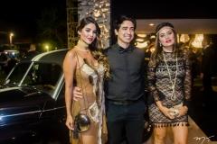 Ker Cardoso, Ivan Sene e Aline Borges