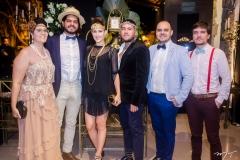 Lina Eleotério, Alberto Gadanha, Brenda Rolim, Iury Costa, Felipe Naô e João Lima