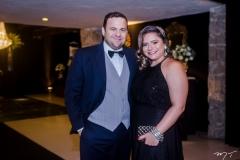 Leandro Albuquerque e Karla Rodrigues