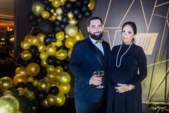 Luiz Victor Torres e Anna Gladys
