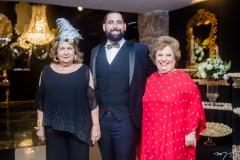 Nadja Sá, Luiz Victor Torres e Ana Penteado
