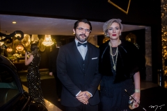 Quincy Queiroga e Andreia Monteiro