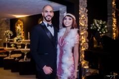 Rafael Caetano e Amanda Leal