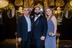 Rogério Torres, Luiz Victor Torres e Sandra Fujita