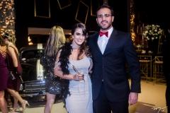 Vanessa Melo e Francisco Vitor