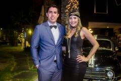 Yuri Pamplona e Beatriz Acioli