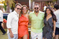 Chico Marinho, Mariana Mota, Xand Avião e Isabele Temóteo