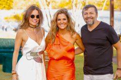 Luciana Sousa, Mariana Mota e Élcio Batista