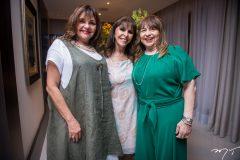Ana Lourdes Almeida, Melânia Torres e Carmen Cinira