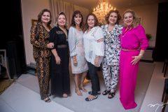 Janice Machado, Fernanda Jersen, Melânia Torres, Rosa Bezerra, Monaliza Gentil e Brícia Carvalho