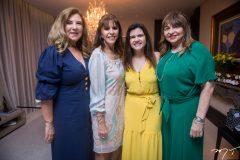 Jória Araripe, Melânia Torres, Ticiana Brígido e Carmen Cinira