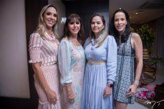 Lívia, Melânia Torres, Luciana Farias e Melina Araújo