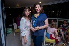 Melânia Torres e Maria Jereissati