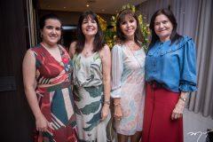 Paula, Suzy Feitosa, Melânia Torres e Juvenília Rolim