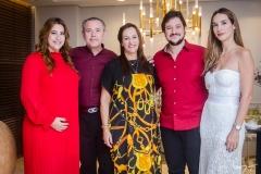 Naiana Cabral Becker, Dão Cabral, Nadya Cabral,  João Cabral Filho, Marcela Cabral Carvalho