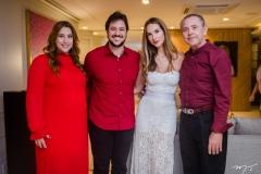 Naiana Becker, João Cabral Filho, Marcela Carvalho e Dão Cabral