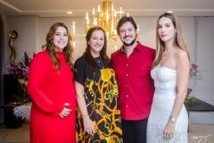 Naiana Becker, Nadya Cabral, João Cabral Filho e Marcela Carvalho