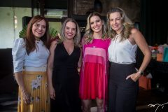Cláudia Alexandre, Mônica Alexandre, Nathália Ponte e Jennifer Montenegro