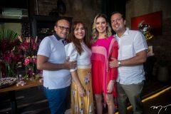 Emanuel Ponte, Cláudia Alexandre, Nathália Ponte e Rodrigo Ponte
