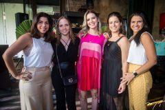 Manuela, Nathália Petrônio, Nathália Ponte, Raquel Petrônio e Michele Squine