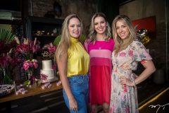 Mirela Tomás, Nathália Ponte e Daniela Ponte