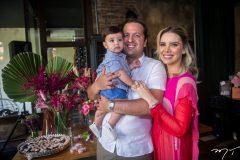 Rafael, Rodrigo e Nathália Ponte