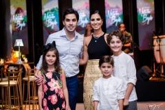 Liz Bayde, Netinho Bayde, Nicole Pinheiro, Antônio Bayde e Joaquim Cavalcante