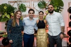 Ruby Araújo, Netinho Bayde, Nicole Pinheiro e Leonardo Teruiz