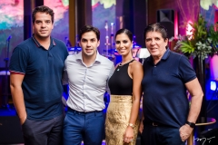 Thiago Holanda, Netinho Bayde, Nicole Pinheiro e Dito Machado