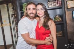 André Montenegro e Rebeca Rios