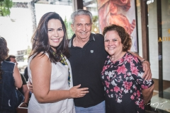 Andréa Rios, Abner Peixoto e Sônia Alencar