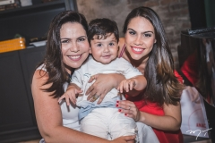 Andréa Rios, Raulzinho Amaral e Rebeca Rios