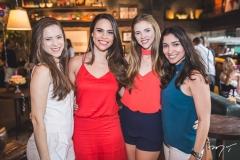 Lara Araruna, Rebeca Rios, Ana Araruna e Loren Diniz