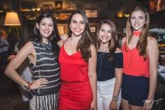 Naiana Azevedo, Rebeca Rios, Isabela Liberato e Ana Araruna