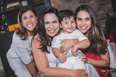 Nara Amaral, Andréa Rios, Raulzinho Amaral e Rebeca Rios