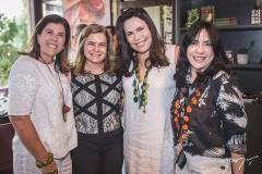 Nara Maral, Natércia Rios, Andréa Rios e Sâmia Távora