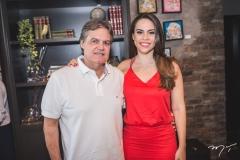Paulo Miranda e Rebeca Rios