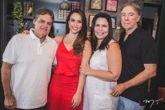 Paulo Miranda, Rebeca e Andréa Rios e Alexandre Montenegro