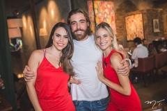 Rebeca Rios, André Montenegro e Dani Gondim