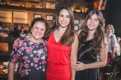 Sônia Alencar, Rebeca Rios e Vitória Alencar