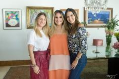 Bruna Magalhães, Roberta Fernandes e Marina Brasil