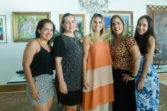 Lara Lopes, Thais, Roberta e Luiza Fernandes