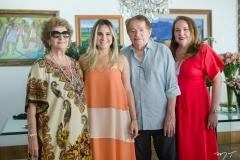 Maria Luiza, Roberta Fernandes, Pantaleão e Luiziane Cavalcante