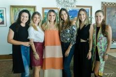 Mariana Fiuza, Bruna Magalhães, Roberta Fernandes, Marina Brasil, Talita Pontes e Daniela Eloy