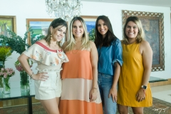 Sarah Damasceno, Roberta Fernandes, Milena Holanda e Vanessa Vasques