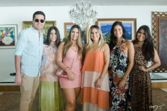 Victor Oliveira, Natália Nogueira, Roberta Fernandes, Daniela de Paula, Paloma Fiuza e Carolina Nogueira
