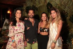 Livia Assreuy, Sávio Brito, Lara Araripe e Larissa Proença