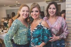 Andréa Delfino, Silvinha Carneiro e Cristiane Faria
