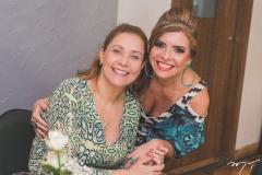 Andréa Delfino e Silvinha Carneiro