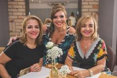 Carol Amorim, Silvinha Carneiro e Kátia Maia